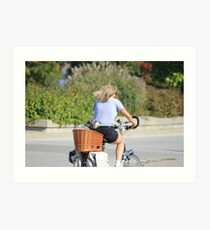 Bicycle Built For Two? Art Print