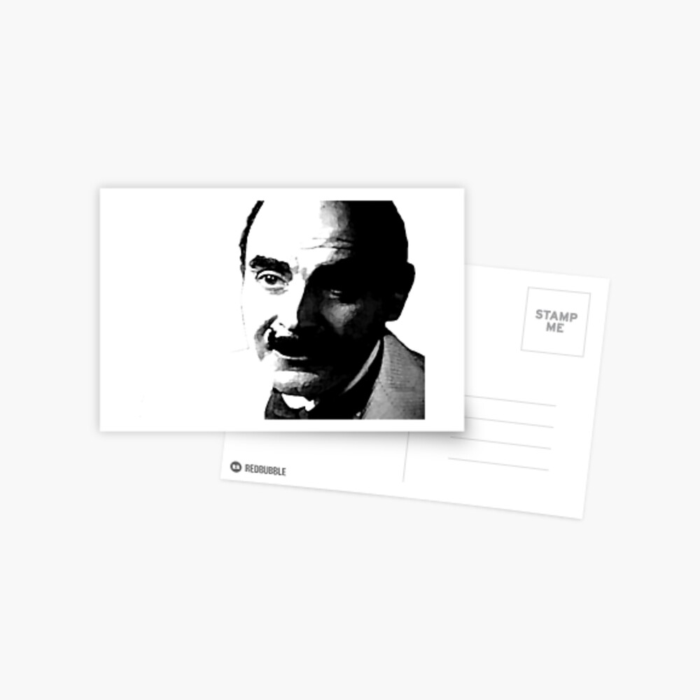 Belgischer Detektiv Postkarte