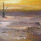 Summer Creek Sunrise by Rachel Ireland Meyers