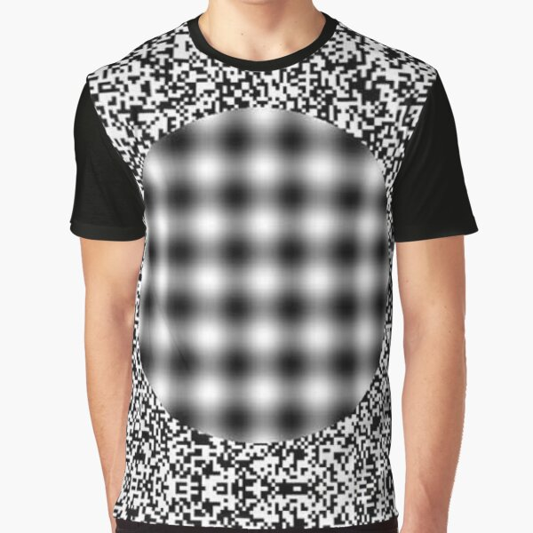 Optical illusion in Physics Graphic T-Shirt