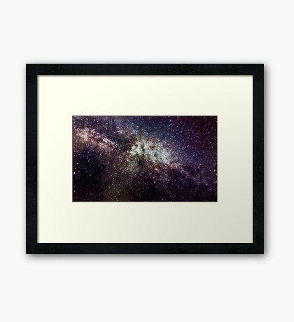Milky Way near Cygnus  Framed Print