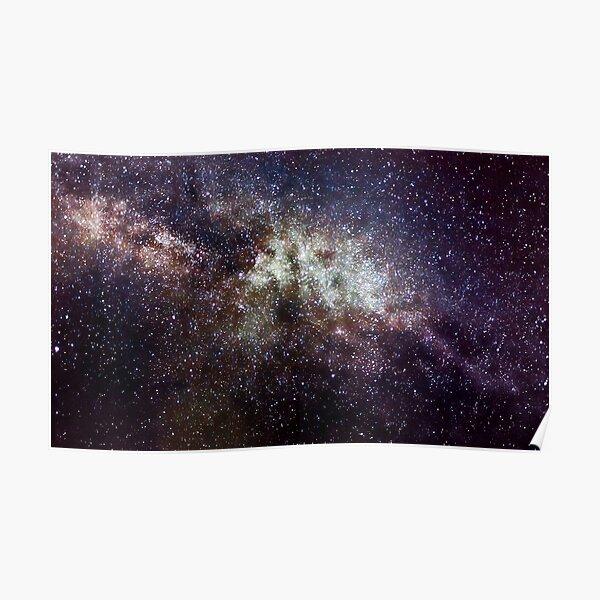 Milky Way near Cygnus  Poster