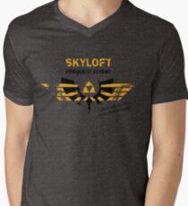 Skyloft Frequent Flyers Men's V-Neck T-Shirt