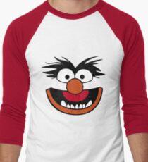 Animal Muppet (Orange Lips&Nose) Men's Baseball ¾ T-Shirt
