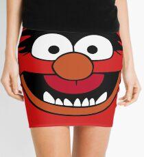 Animal Muppet (Orange Lips&Nose) Mini Skirt