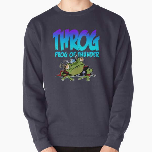 Throg: Frog of Thunder Pullover Sweatshirt