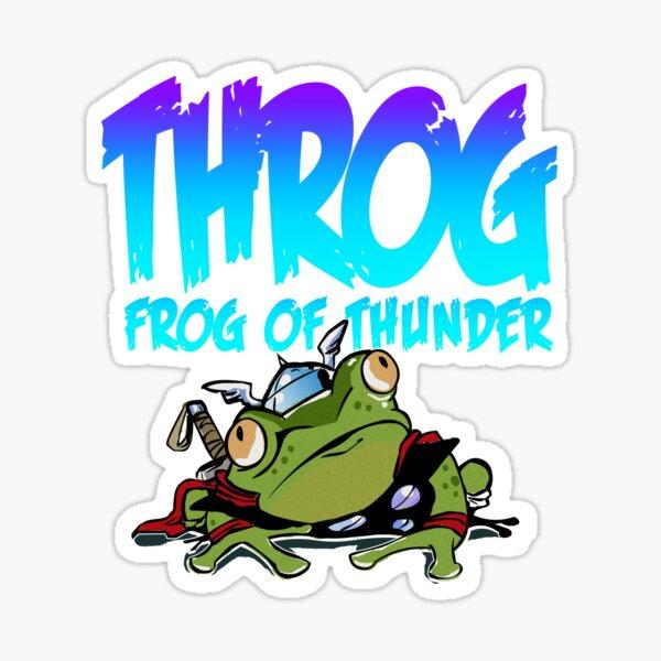 Throg: Frog of Thunder Sticker