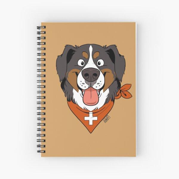 Fluffy Berner Spiral Notebook