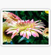 Breast Cancer Awareness Gerber Daisy Sticker