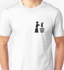 Bin your golf bag pocket T-Shirt