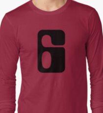 Houston!  Number 6!  Jonathan! Long Sleeve T-Shirt