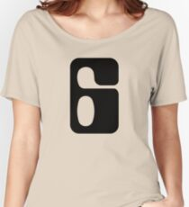 Houston!  Number 6!  Jonathan! Women's Relaxed Fit T-Shirt