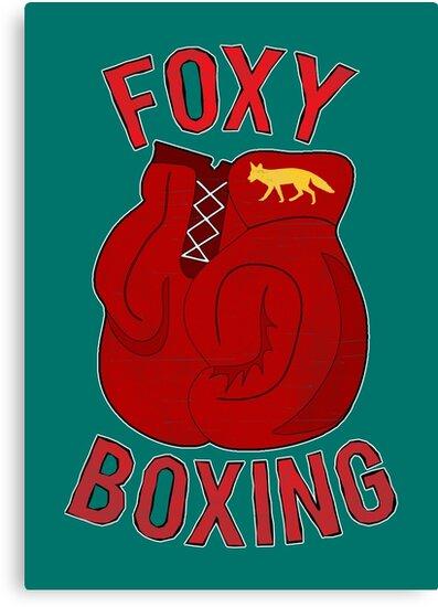 Foxy boxing by puppaluppa
