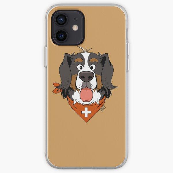 Scruffy Berner iPhone Soft Case