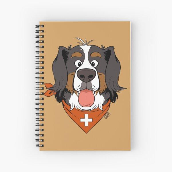 Scruffy Berner Spiral Notebook