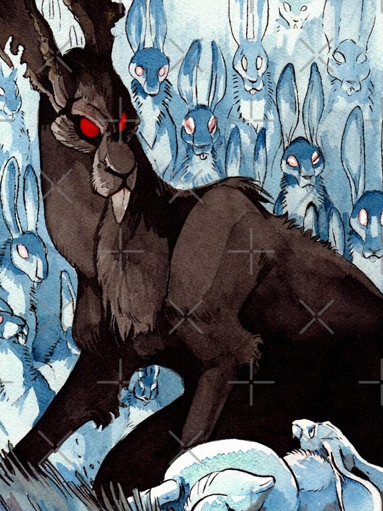The Black Rabbit by weremagnus