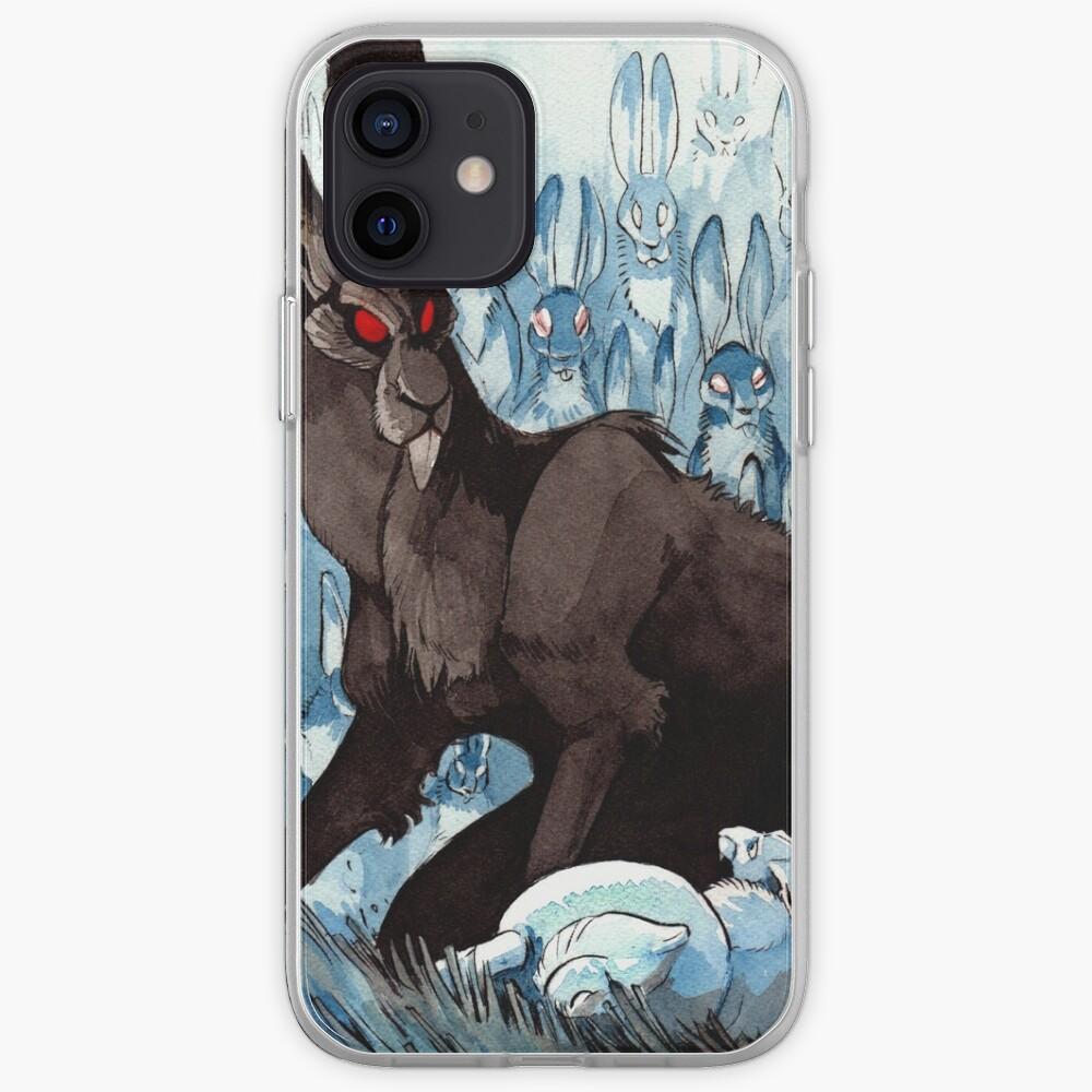 The Black Rabbit iPhone Case & Cover