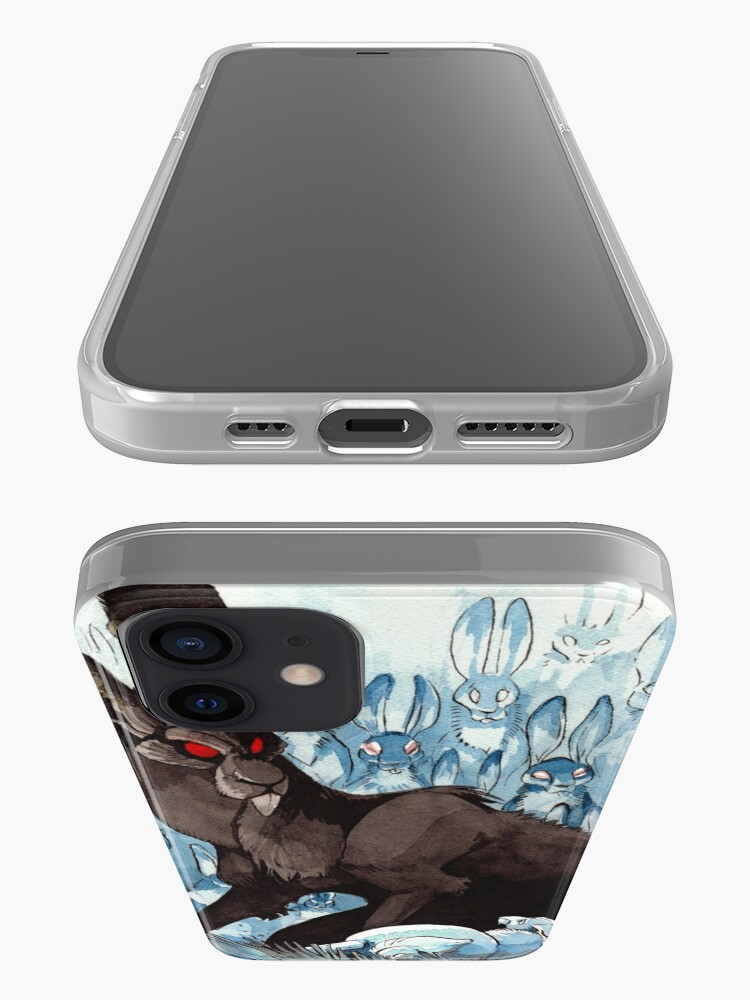 Alternate view of The Black Rabbit iPhone Case & Cover