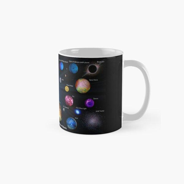 SPACE: 1999 YEAR 1 PLANETS Classic Mug