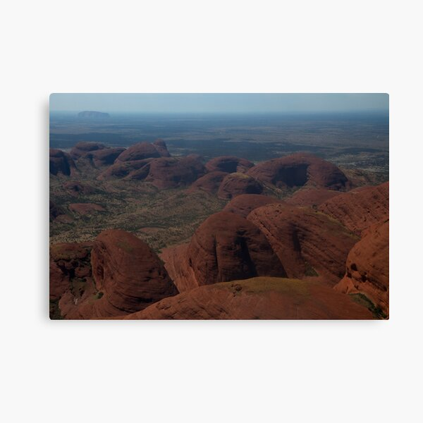 Kata Tjuta View Canvas Print
