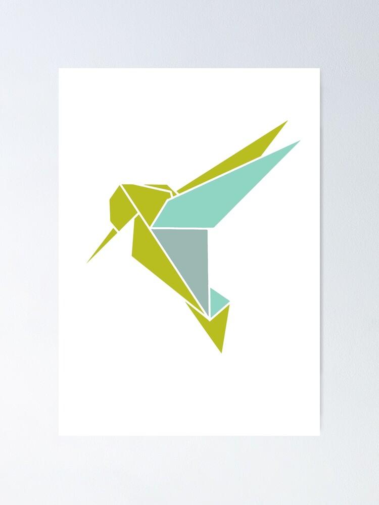 HUMMINGBIRD ORIGAMI TUTORIAL - YouTube   1000x750
