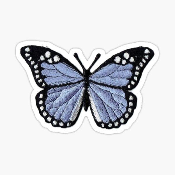 Butterfly Patch Sticker