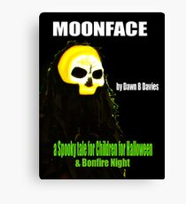 MOONFACE - E-BOOK Canvas Print