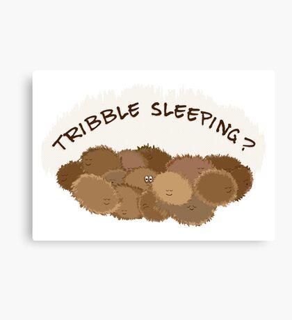 Tribble sleeping? Canvas Print