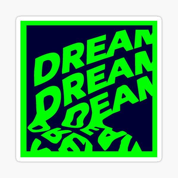 Madeon Dream Dream Dream Logo Sticker