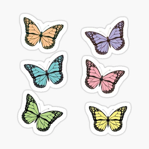 Butterfly Pack Sticker