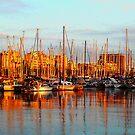 Port Vell - Barcelona by Juergen Weiss
