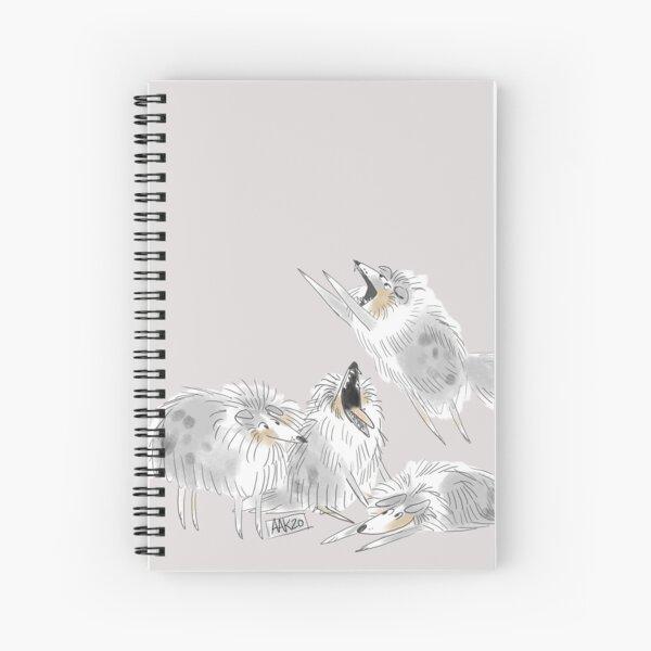 Finnegan the Sheltie Spiral Notebook
