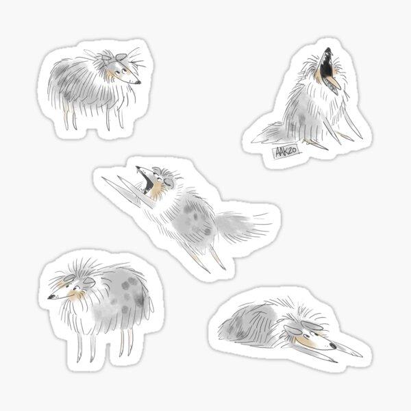 Finnegan the Sheltie Sticker