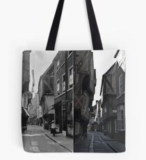 100 years of The Shambles, York, England Tote Bag