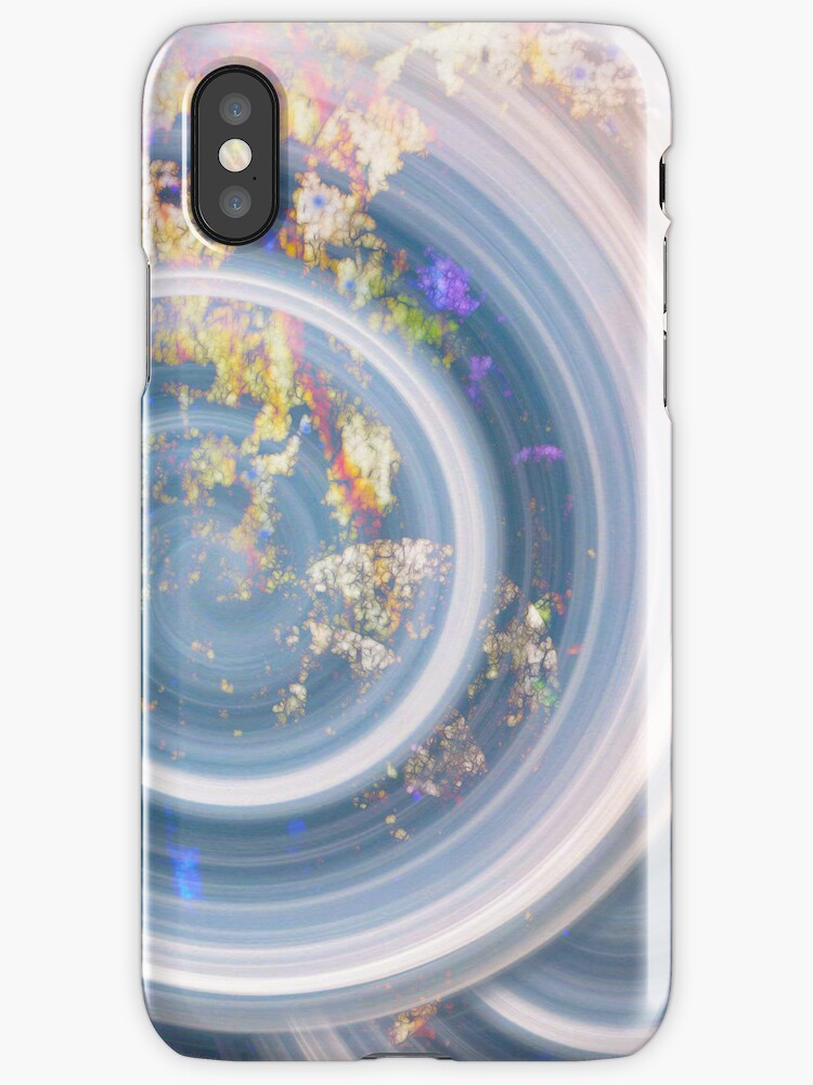 Delicate Spirals _ I Phone Case by Diane Johnson-Mosley