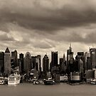 New York City view from Weehawken NJ von Peter O'Hara