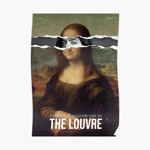lorde - the louvre Poster