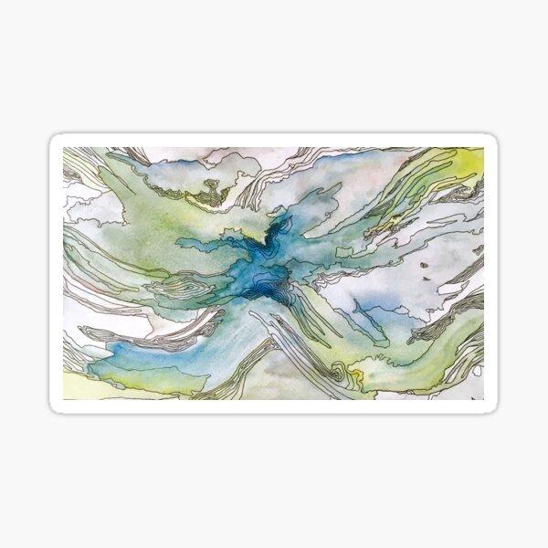 Cambrian Explosion I Sticker