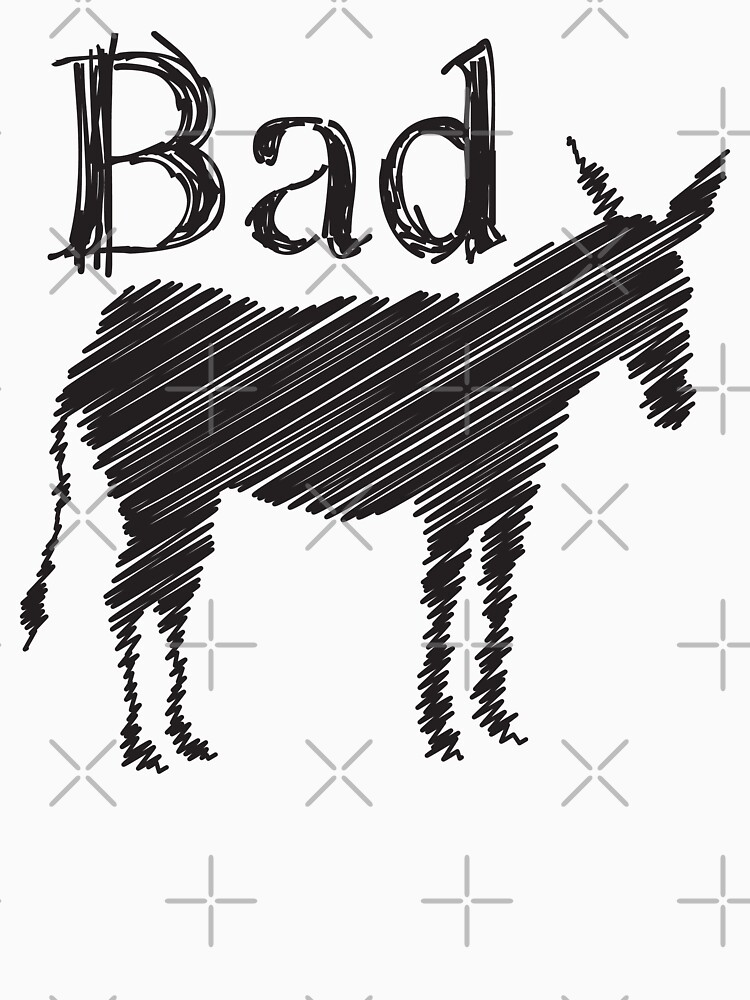 BAD ASS donkey funny design by jazzydevil