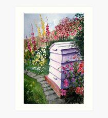"""The Bee Hive"" Art Print"