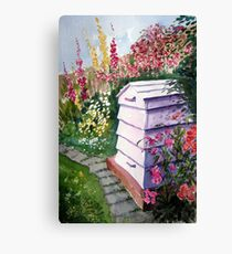 """The Bee Hive"" Canvas Print"