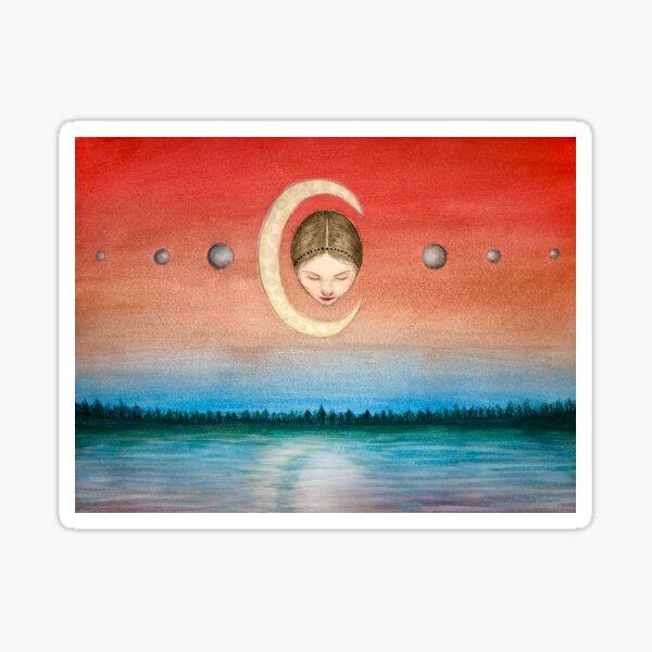 Moonstone Sticker