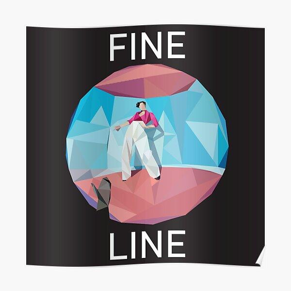 Fine Line Poly Art Album Poster By Jose D Redbubble
