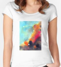 """""""Division"""" Women's Fitted Scoop T-Shirt"""