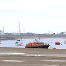RNLI lifeboat at anchor by OurKev
