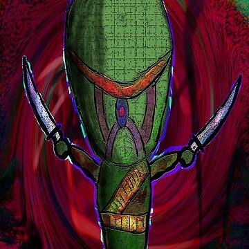Digital Patch Ninja by destructopanda