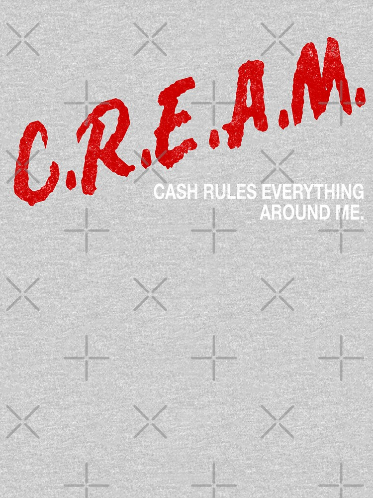 C.R.E.A.M. - cash rules everything around me by Primotees
