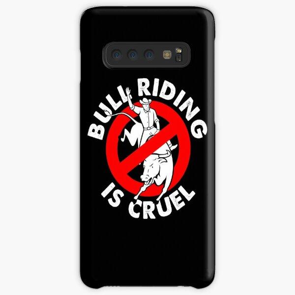 Stop bull riding animal rights activism Samsung Galaxy Snap Case