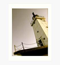 Ludington Lighthouse Art Print