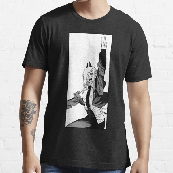 Chainsaw Man- Winning Power Essential T-Shirt